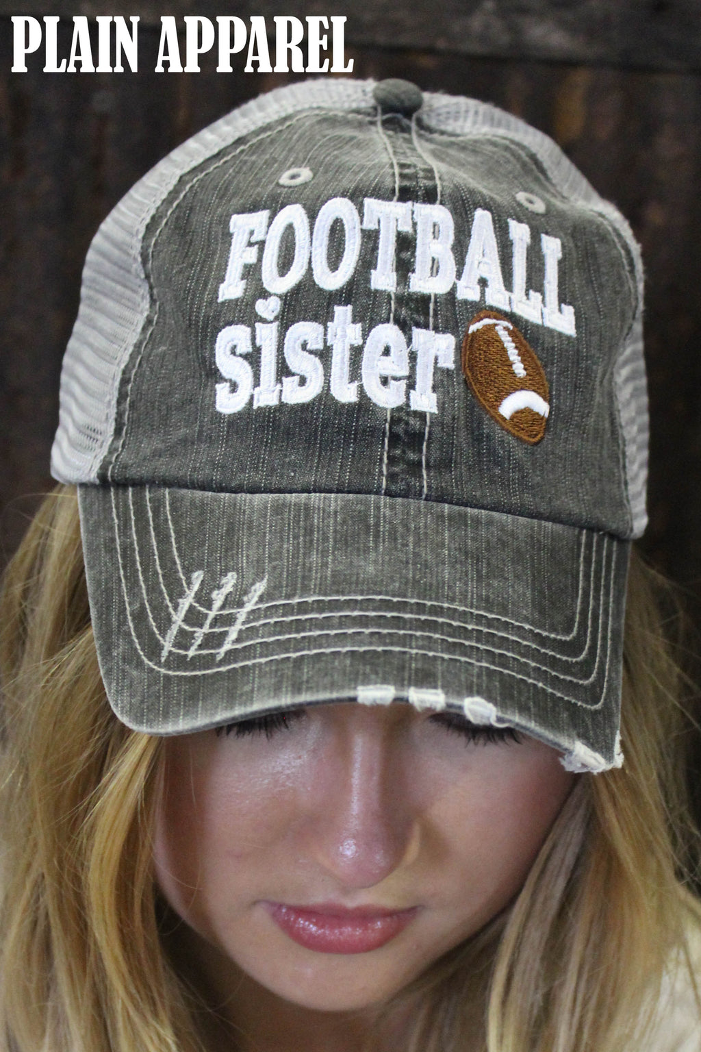 Football SISTER Ball Cap