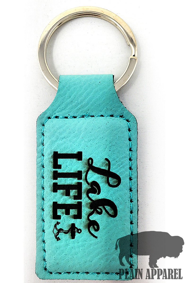 Lake Life Engraved Keychain - Bless UR Heart Boutique