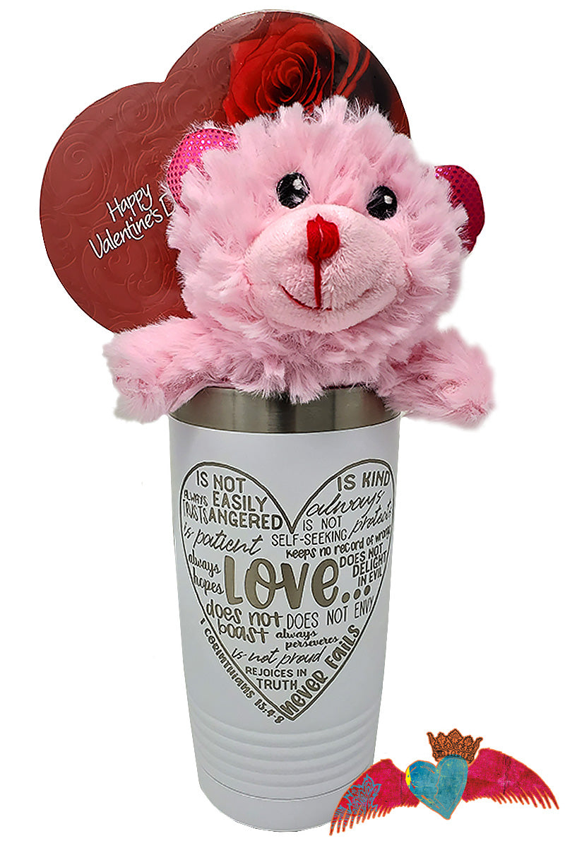 Love Verse Valentine Bouquet - Bless UR Heart Boutique