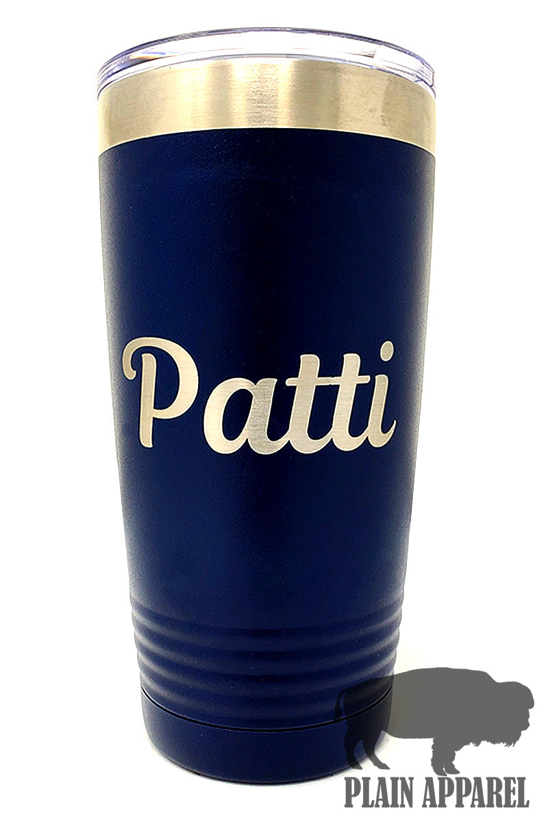 Engraved 20oz Tumbler with Name - Bless UR Heart Boutique