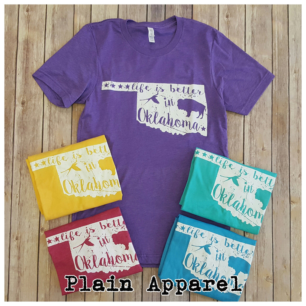 Life is Better in Oklahoma  ☆New Spring Colors☆