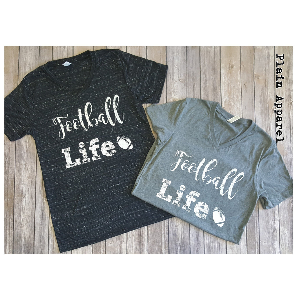 Football Life Bella V-Neck
