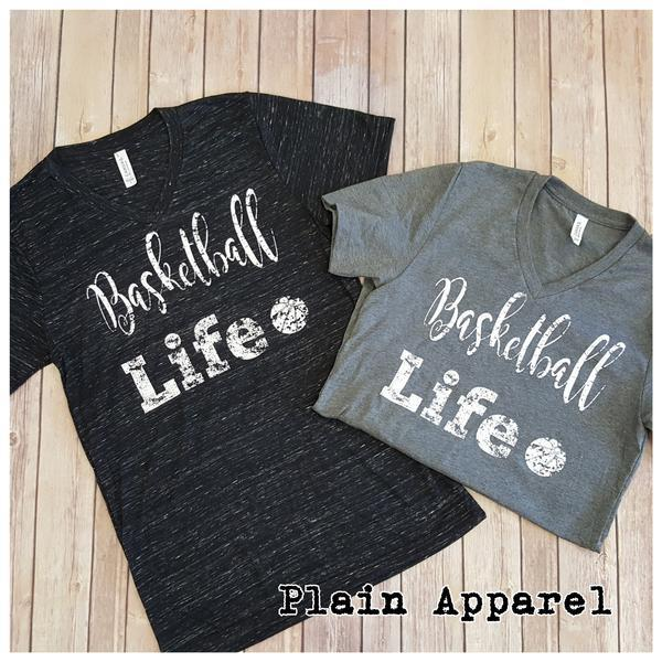 Basketball Life Tee - Bless UR Heart Boutique