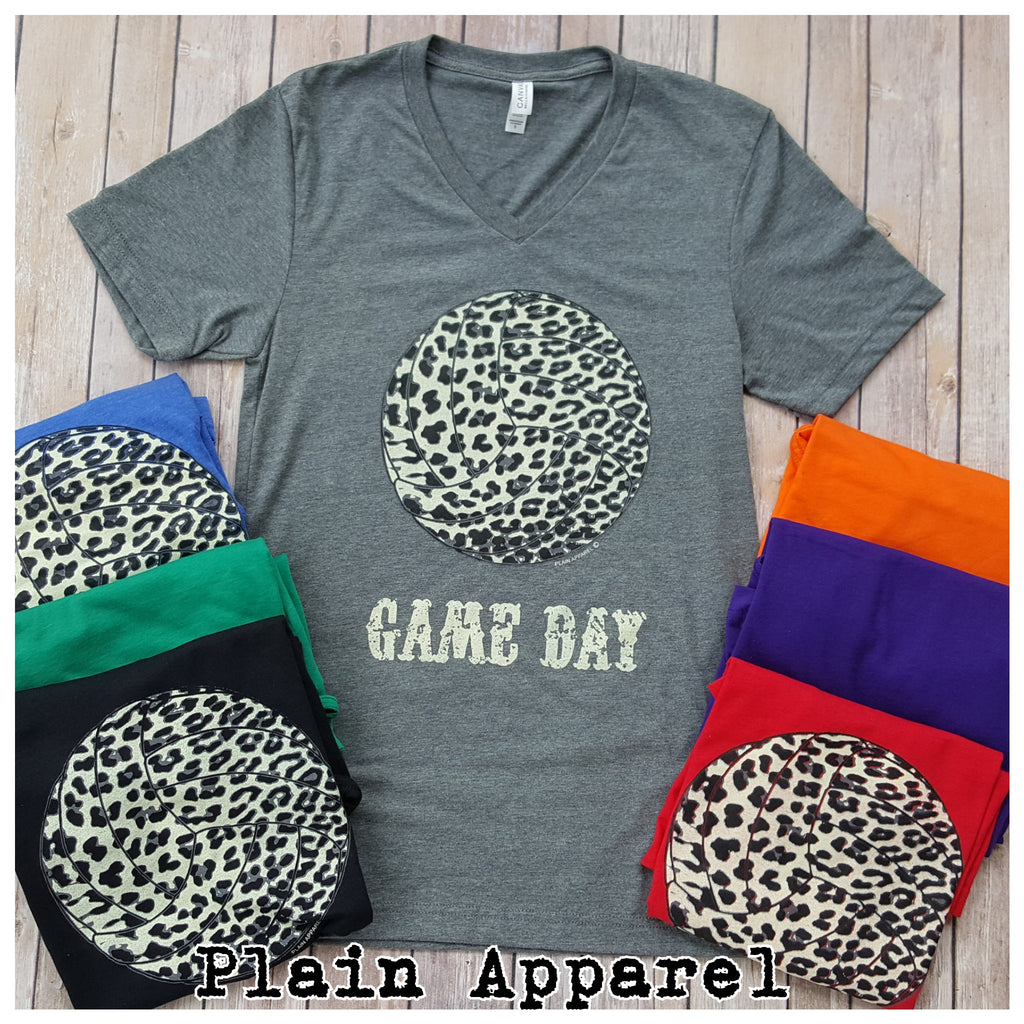 Volleyball Snow Leopard Game Day - Bless UR Heart Boutique