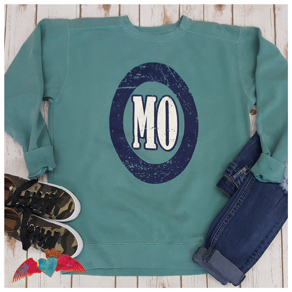 MO Comfort Colors Crew Sweatshirt