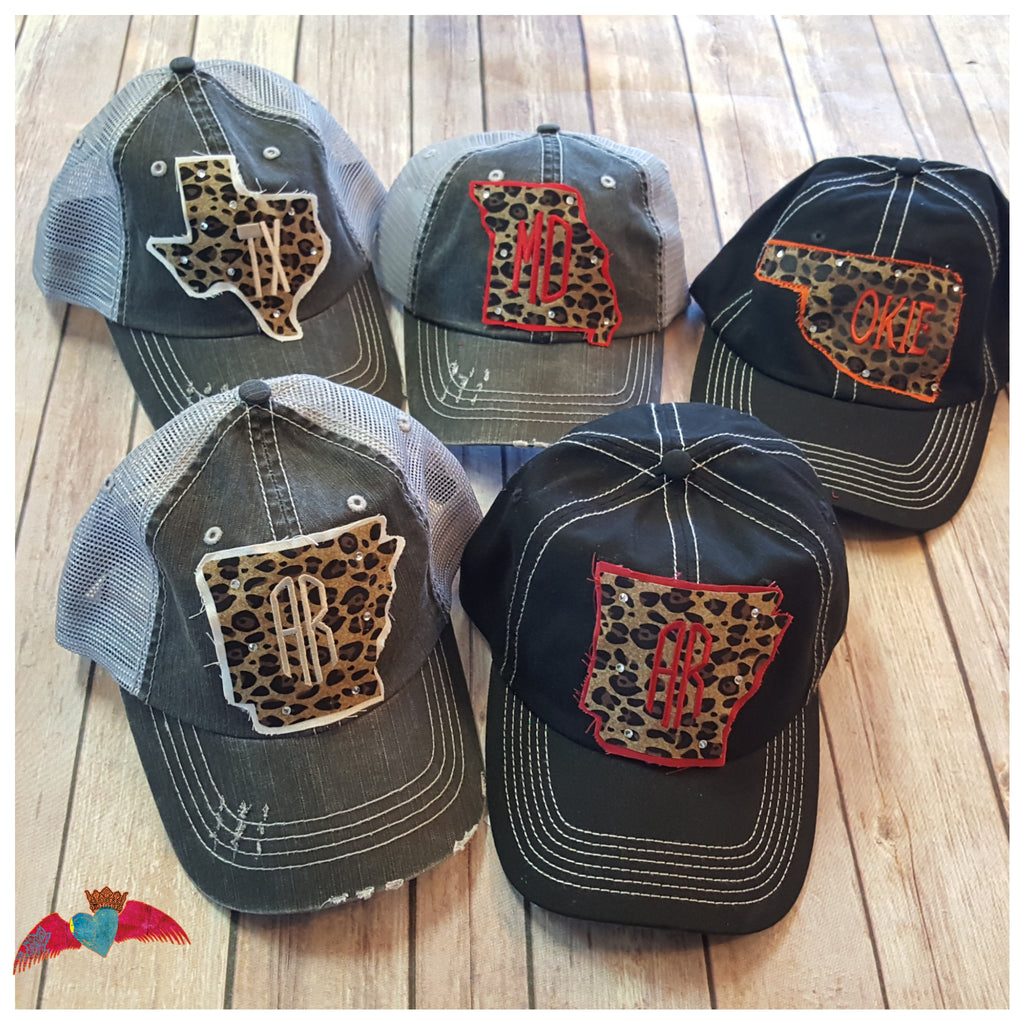 Leopard State Ball Caps