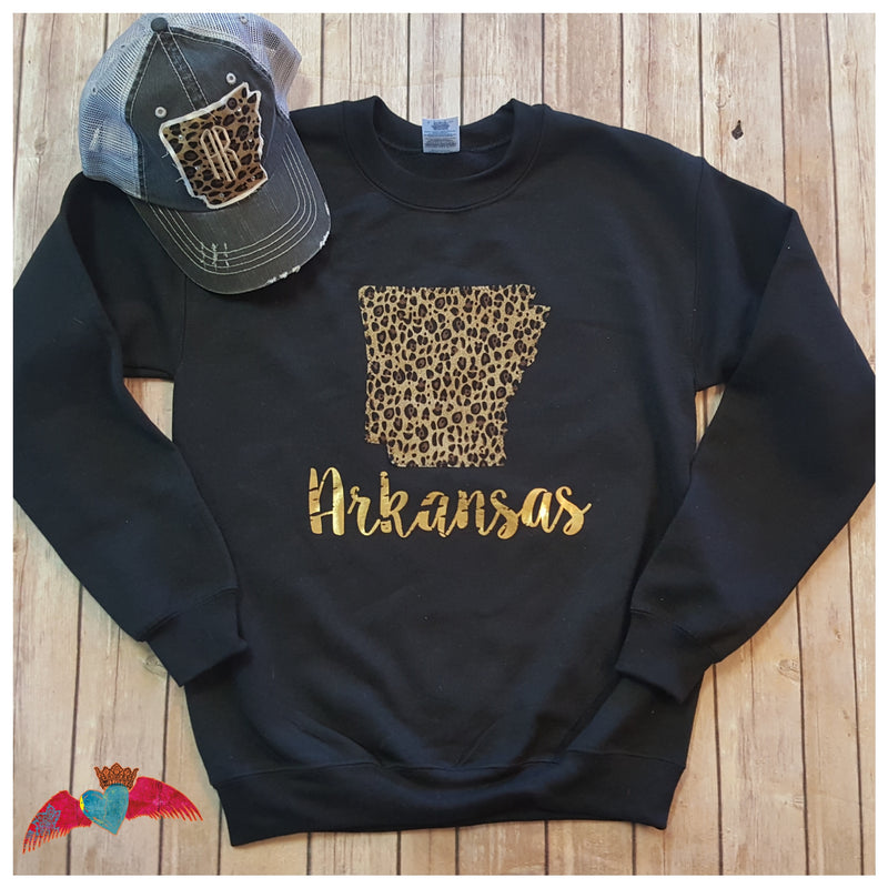 Leopard Arkansas Sweatshirt