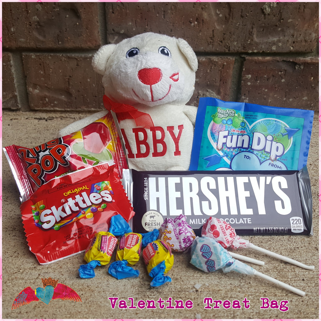 Valentine Plush Gift Set
