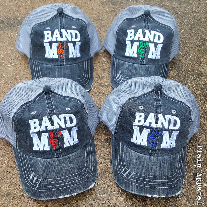 Band MOM Cap - Bless UR Heart Boutique