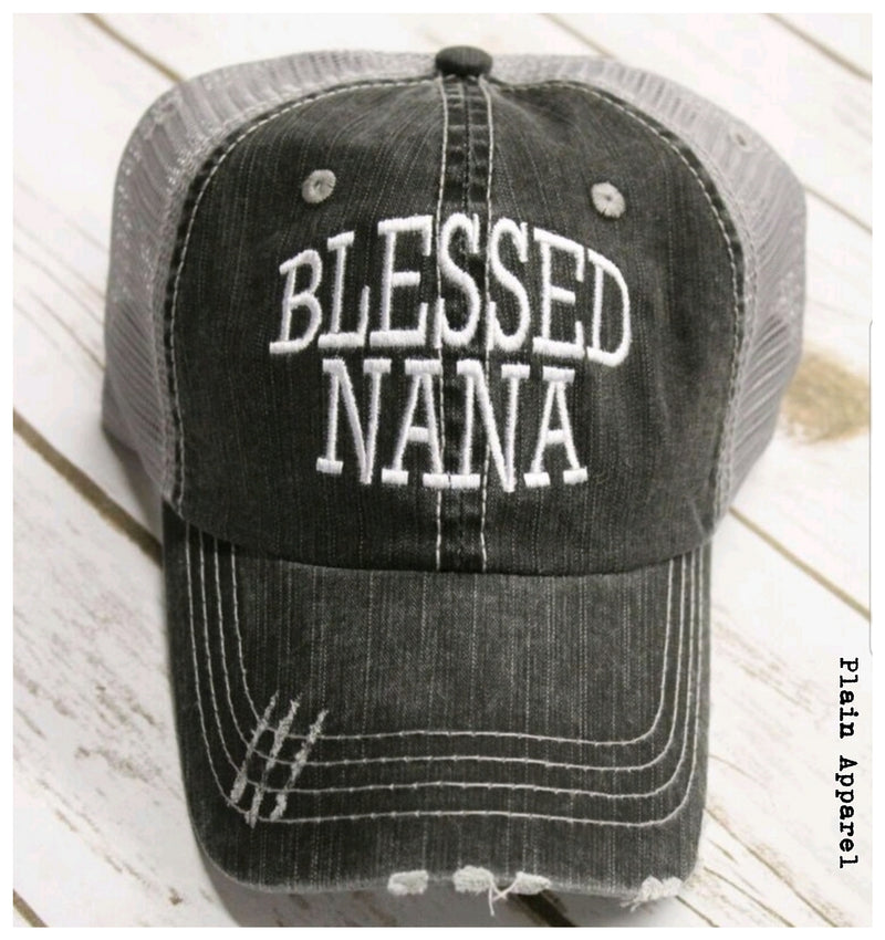 Blessed Nana Cap - Bless UR Heart Boutique