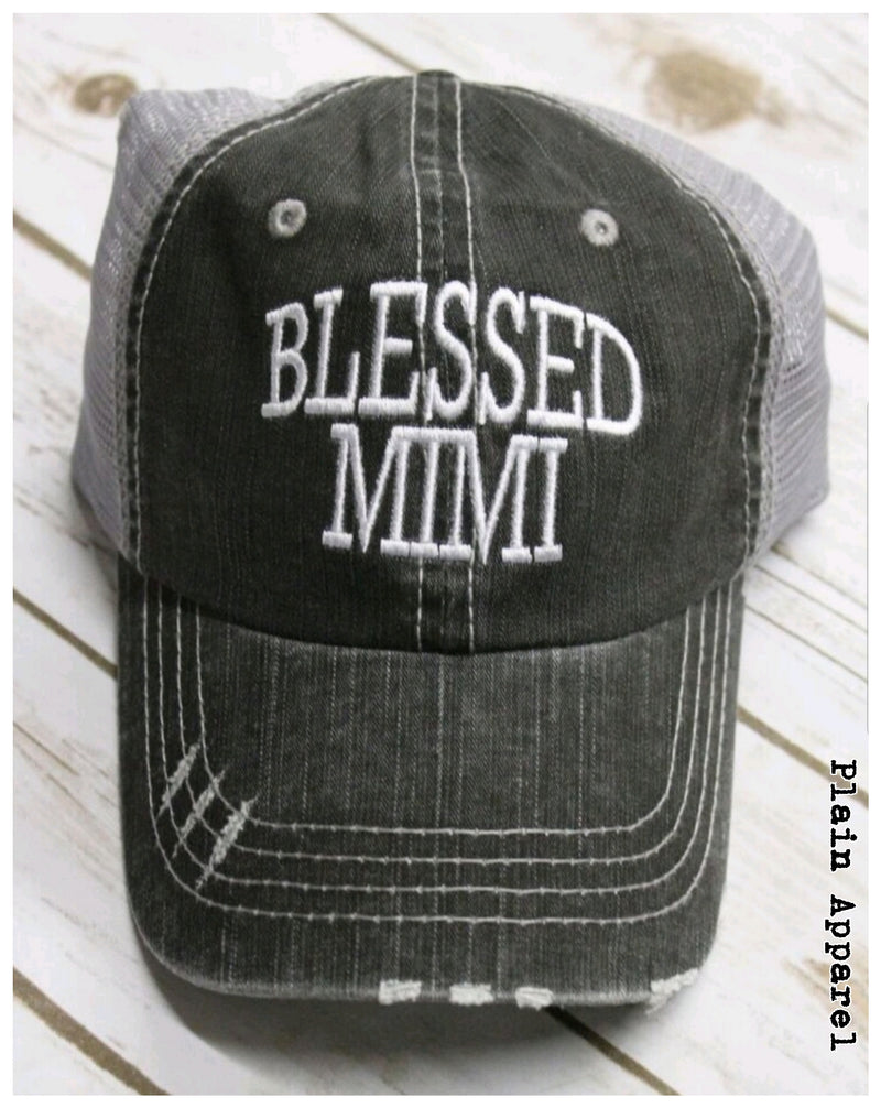 Blessed Mimi Cap - Bless UR Heart Boutique