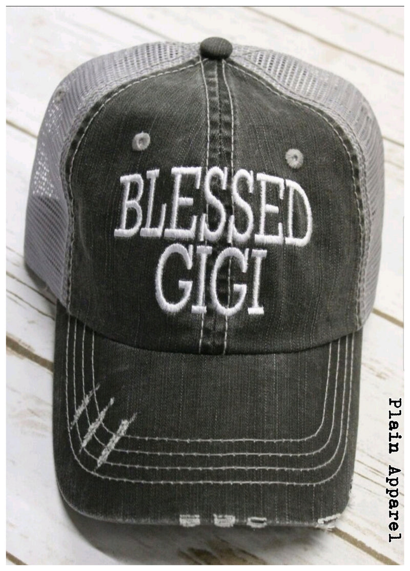 Blessed Gigi Cap - Bless UR Heart Boutique