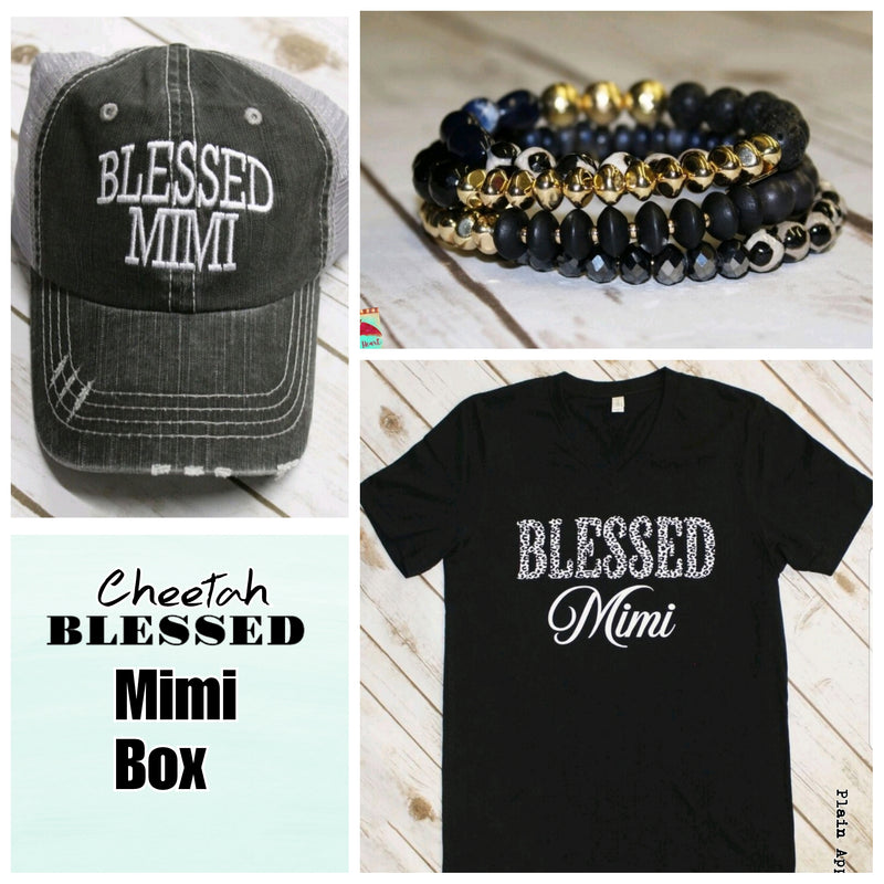 Cheetah Blessed MIMI Box