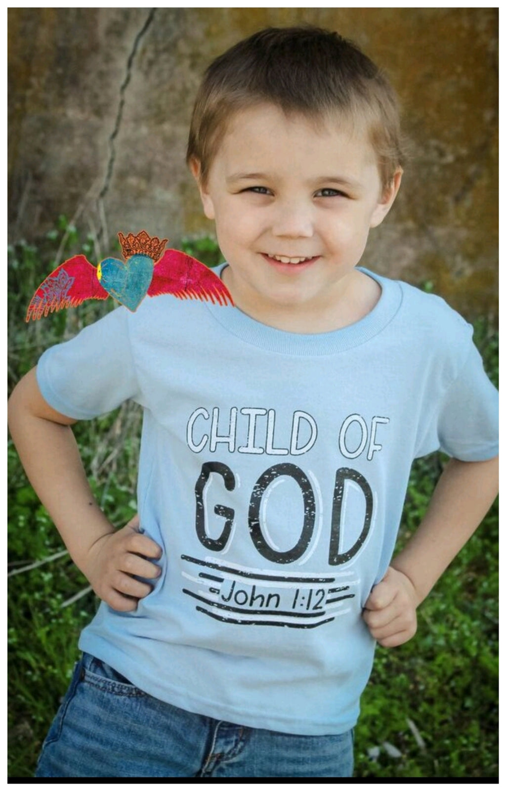Child of God Crew - Bless UR Heart Boutique