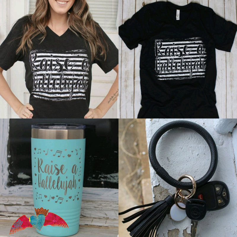 Raise a Hallelujah Box - Bless UR Heart Boutique