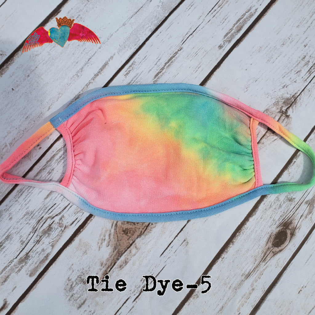 Tie Dye Face Mask 5 - Bless UR Heart Boutique