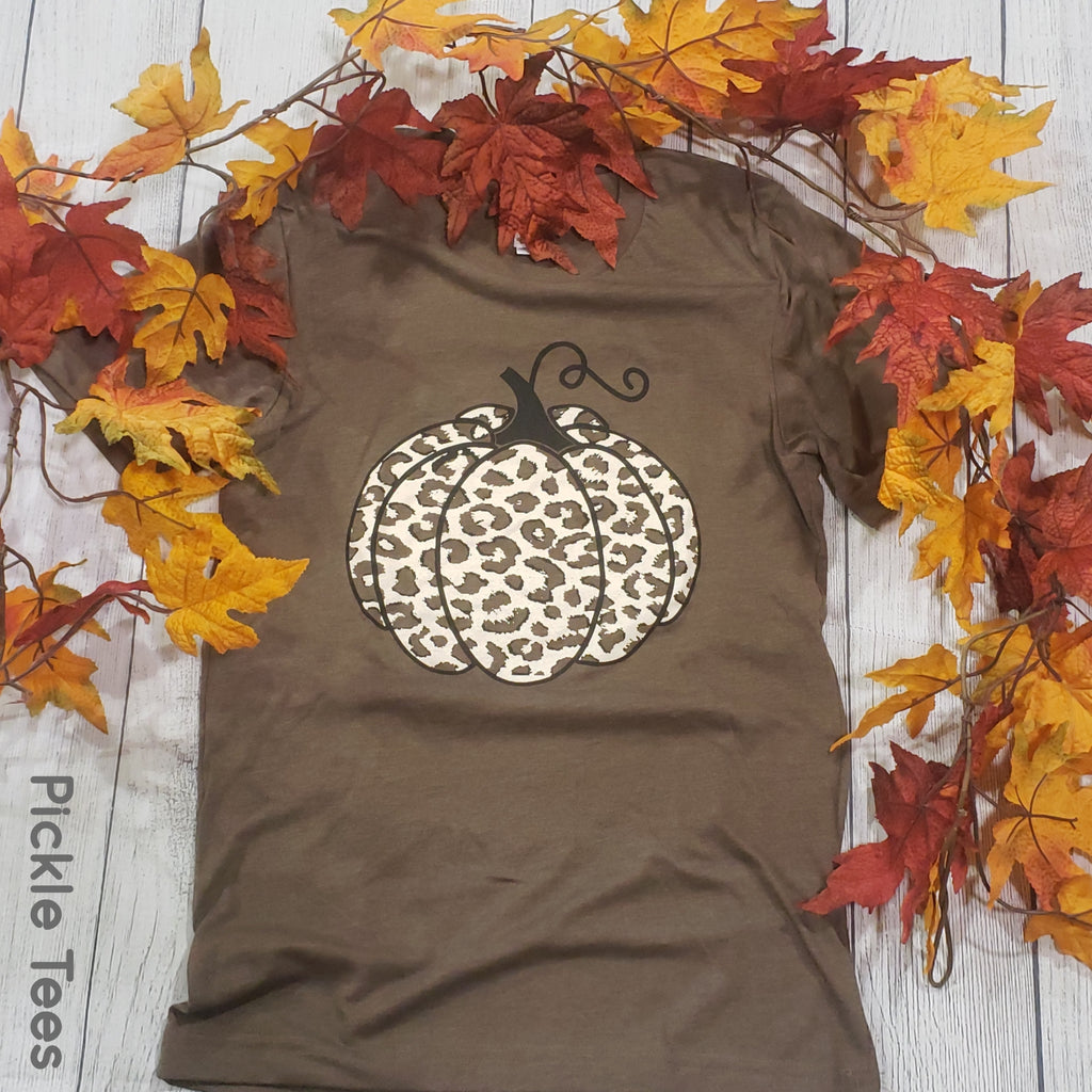 Snow Leopard Pumpkin - Bless UR Heart Boutique