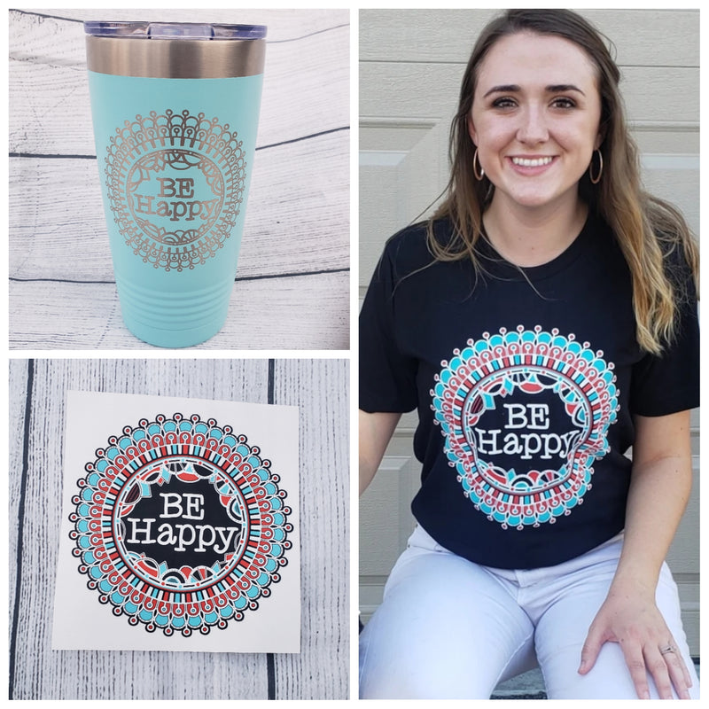 Be Happy Combo Set - Bless UR Heart Boutique