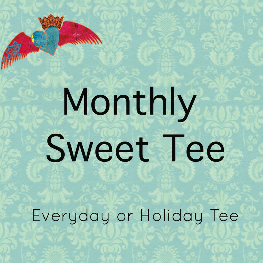 Monthly Sweet Tee (New Unique Design Monthly! Limited Quantities!) - Bless UR Heart Boutique