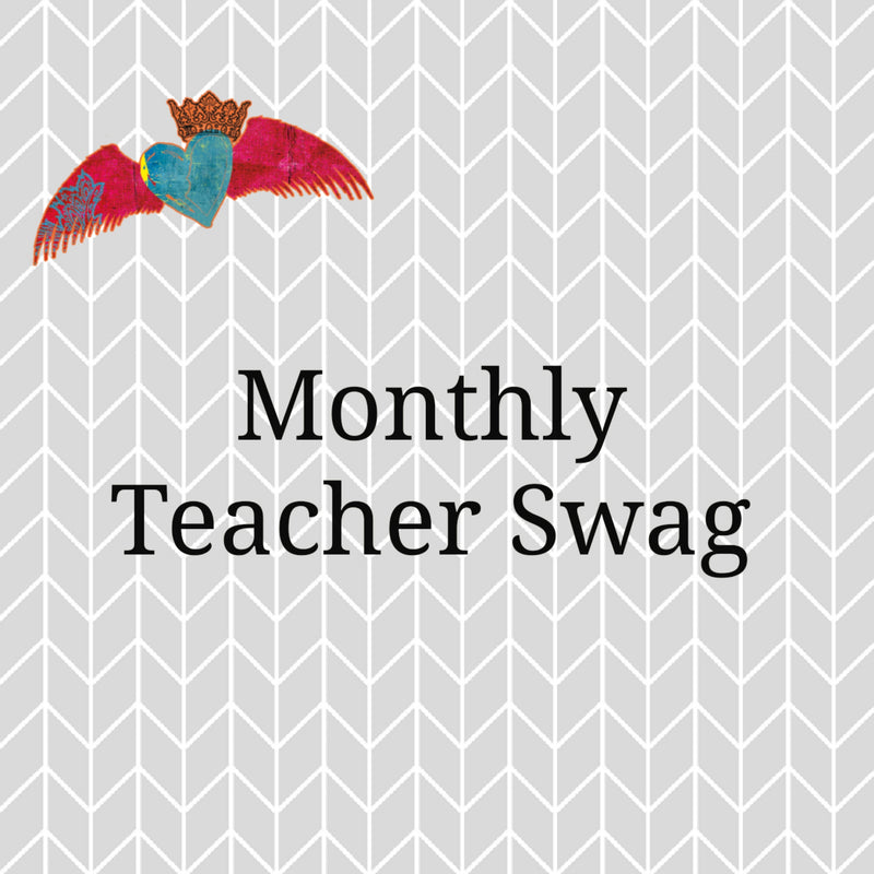 Monthly TEACHER Swag - Bless UR Heart Boutique