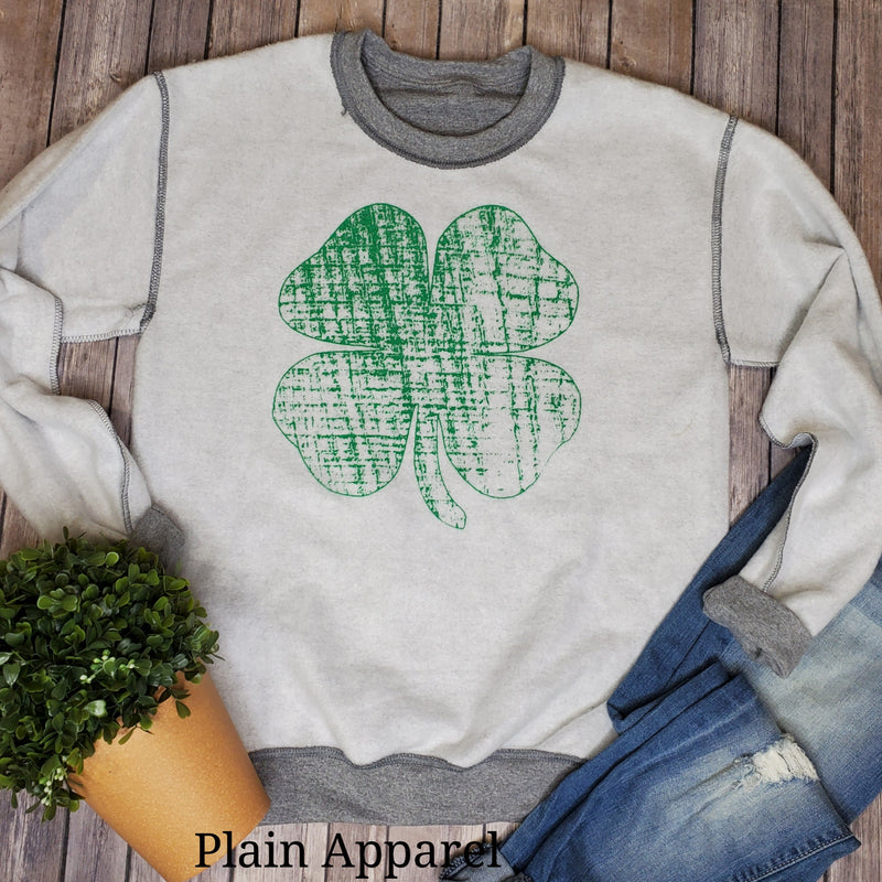 Clover Inside Out Sweatshirt