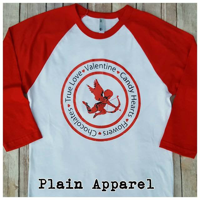 Cupid Love Raglan