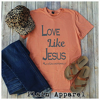 Love Like Jesus Crew - Bless UR Heart Boutique