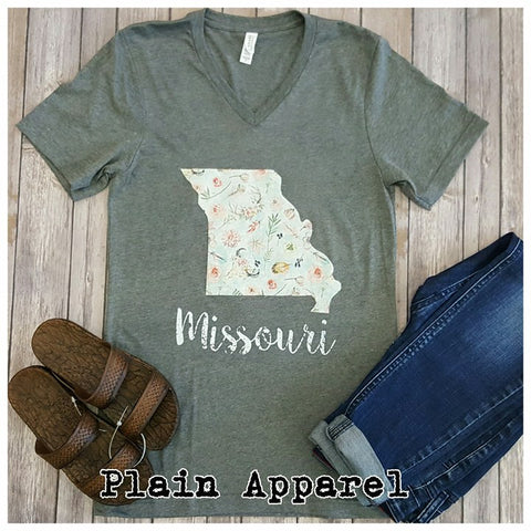 Missouri Boho V-Neck