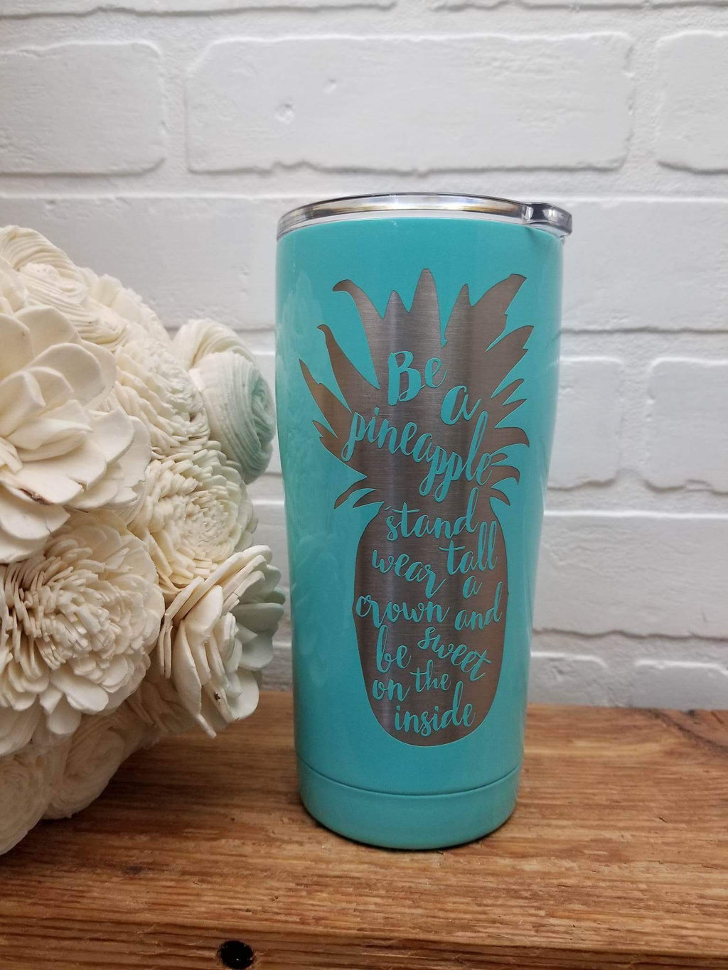 Pineapple 20oz Engraved SIC Cup