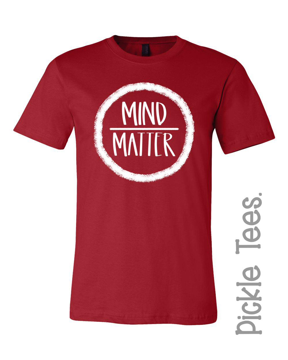 Mind Over Matter Crew Tee - Bless UR Heart Boutique
