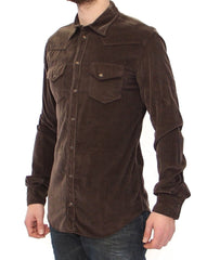Exclusive Brown Manchester Sicilia Casual Shirt