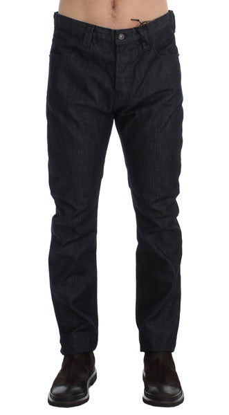 Blue Regular Fit Cotton Denim Jeans