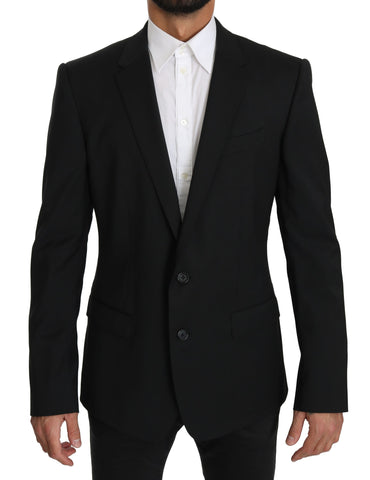 Black Single Breasted Jacket MARTINI Blazer