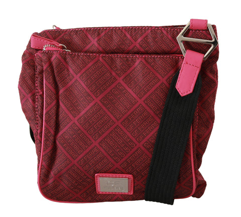 Pink Printed Crossbody Shoulder Purse Women Borse Fabric bag