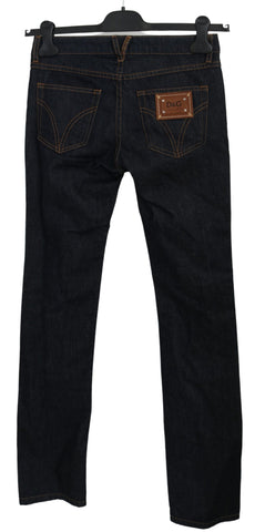 Blue SLIMMY Tight Trousers Denim Cotton Jeans