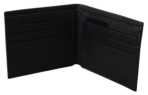 Black King Bifold Card Holder Bill Slot Wallet