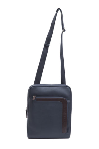Navy Brown Shoulder Bag