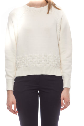 Bianco White Sweater