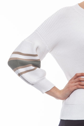 G Bianco White Sweater