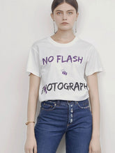 Load image into Gallery viewer, No Flash Photography T-Shirt