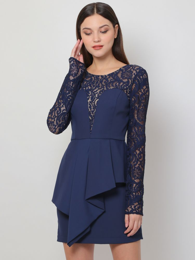 Azure Longsleeve Dress