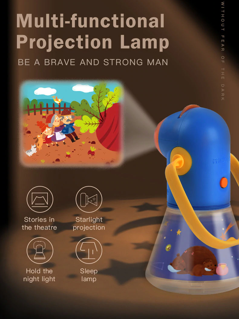 Children Night Lamp Multifunction Story Projector