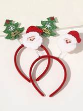 Load image into Gallery viewer, Christmas Santa Claus Decor Hair Hoop