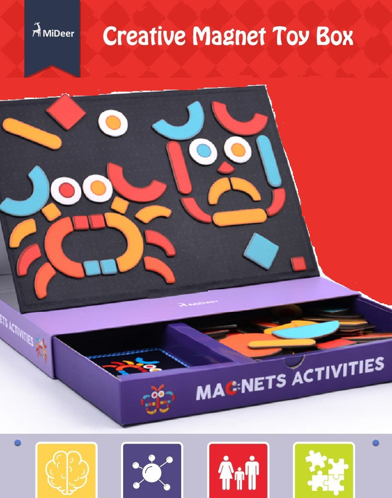 Creative Magnetic Puzzle - Activities