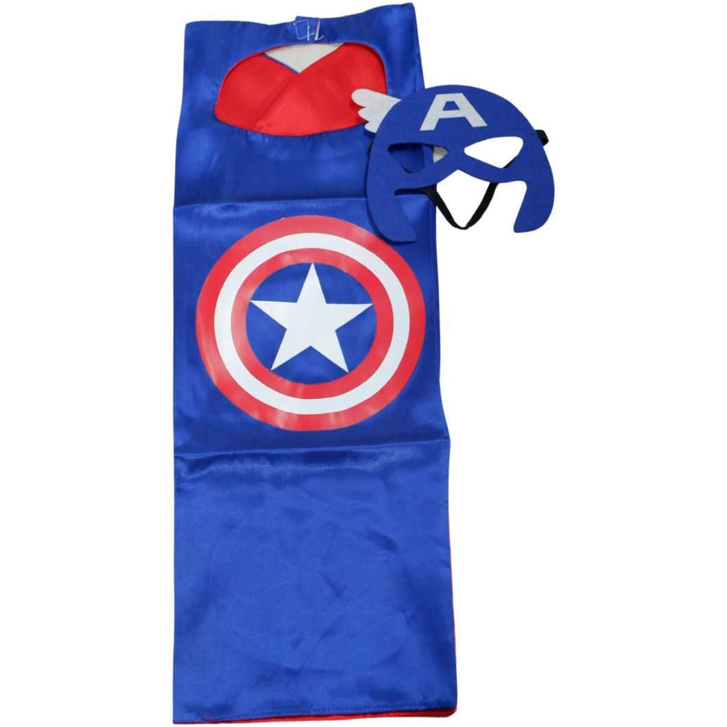 Jubah Superhero Captain America