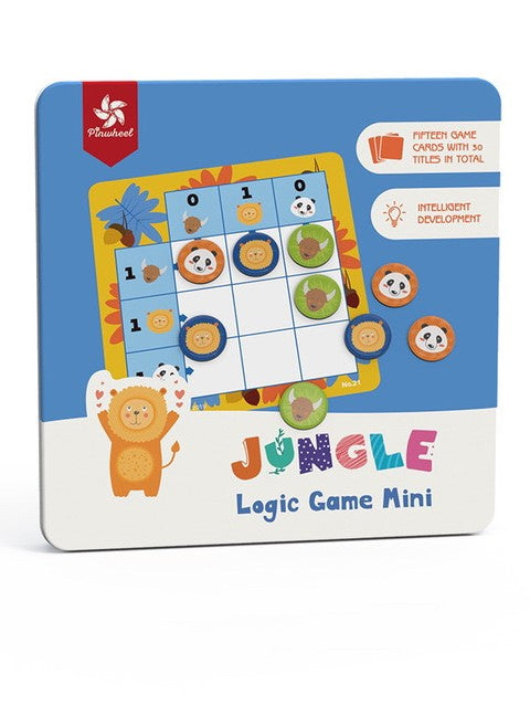 Jungle - Logic Game Mini Children Animal Soduku