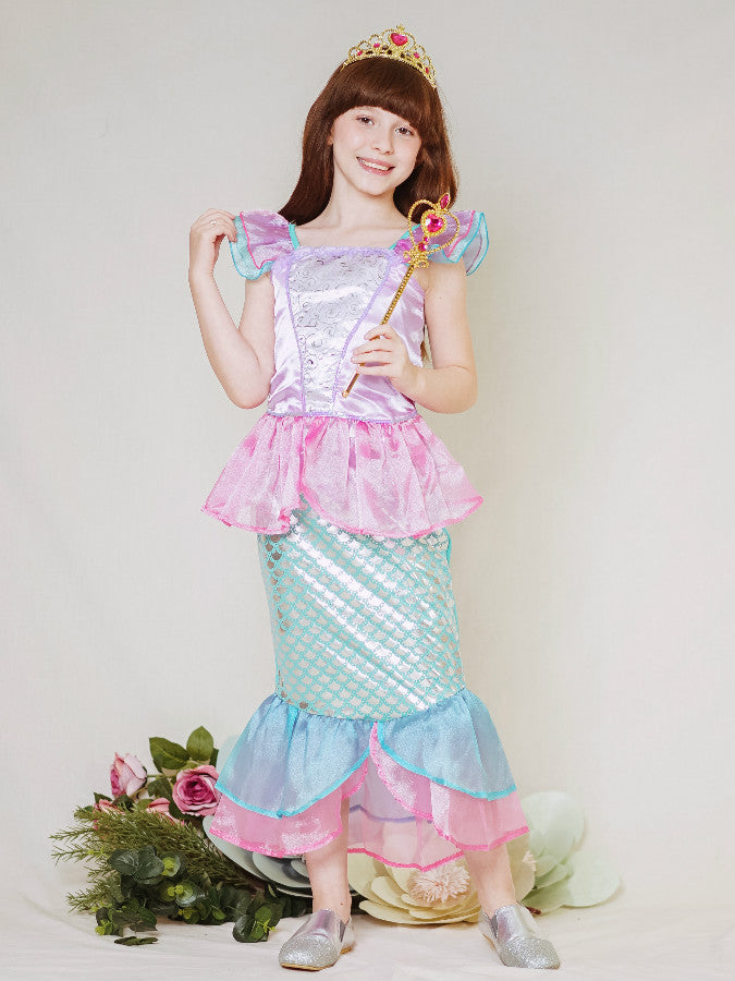 Little Mermaid Costume Pink