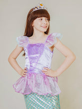Load image into Gallery viewer, Little Mermaid Costume Purple