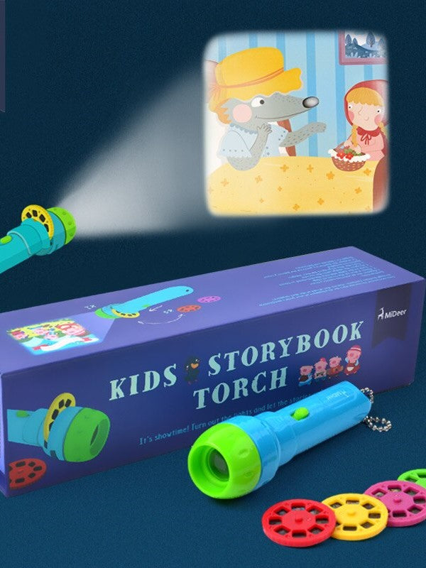 Mini Projector Torch Sleeping Stories Toys