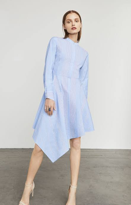 Rayanne Asymmetrical Shirt Dress